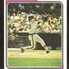 California Angels Bobby Valentine 1974 Topps Baseball Card # 101 ex