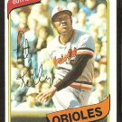 Baltimore Orioles Pat Kelly 1980 Topps Baseball Card # 543 nr mt