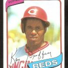 Cincinnati Reds Ken Griffey 1980 Topps Baseball Card # 550