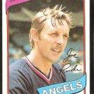 California Angels Joe Rudi 1980 Topps Baseball Card # 556 nr mt