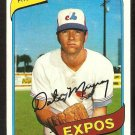 Montreal Expos Dale Murray 1980 Topps Baseball Card # 559 nr mt