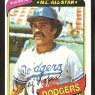 Los Angeles Dodgers Dave Lopes 1980 Topps Baseball Card # 560 nr mt