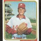 Philadelphia Phillies Max Scarce 1974 Topps Baseball Card # 149 vg