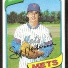 New York Mets Skip Lockwood 1980 Topps Baseball Card # 567 nr mt