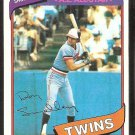 Minnesota Twins Roy Smalley 1980 Topps Baseball Card # 570 nr mt