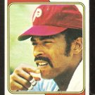 Philadelphia Phillies Bill Robinson 1974 Topps Baseball Card # 174 ex
