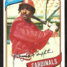St Louis Cardinals Gary Templeton 1980 Topps Baseball Card # 587 nr mt