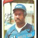 Chicago White Sox Chet Lemon 1980 Topps Baseball Card # 589 ex/em