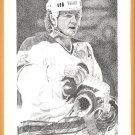 Toronto Maple Leafs Grant Fuhr Calgary Flames Al MacInnes 1991 Pinup Photos