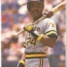 Pittsburgh Pirates Barry Bonds 1990 Pinup Photo