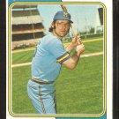 Milwaukee Brewers Darrell Porter 1974 Topps Baseball Card # 194 ex