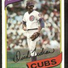 Chicago Cubs Dick Tidrow 1980 Topps Baseball Card # 594 nr mt