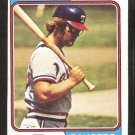 Texas Rangers Jeff Burroughs 1974 Topps Baseball Card # 223 vg