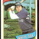 Chicago White Sox Alan Bannister 1980 Topps Baseball Card # 608 nr mt