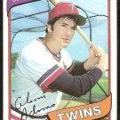 Minnesota Twins Glenn Adams 1980 Topps Baseball Card # 604 nr mt