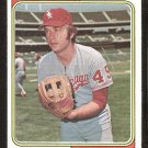 Chicago White Sox Stan Bahnsen 1974 Topps Baseball Card # 254 vg