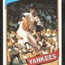 New York Yankees Don Gullett 1980 Topps Baseball Card # 435 vg/ex