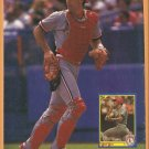 St Louis Cardinals Todd Zeile New York Mets Howard Johnson 1990 Pinup Photos