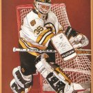 Boston Bruins Andy Moog New York Rangers Mark Messier 1992 Pinup Photo