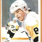 Pittsburgh Penguins Mark Recchi San Jose Sharks Pat Falloon 1992 Pinup Photos