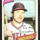 1980 Topps Baseball Card # 636 Cleveland Indians Toby Harrah nr mt