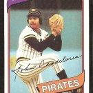 Pittsburgh Pirates John Candelaria 1980 Topps # 635 Baseball Card # 635 nr mt