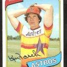 Houston Astros Ken Forsch 1980 Topps Baseball Card # 642 nr mt