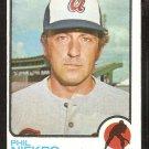 1973 Topps baseball card # 503 Atlanta Braves Phil Niekro em+/nm