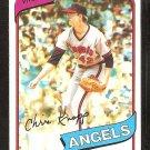 California Angels Chris Knapp 1980 Topps baseball card # 658 Nr Mt