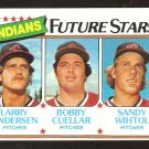 Cleveland Indians Future Stars Larry Andersen Bobby Cuellar Wihtol 1980 Topps # 665 nm