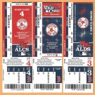 2013 Boston Red Sox Post Season Ticket Lot ALDS ALCS Wild Card Game