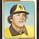 San Diego Padres Steve Arlin 1974 Topps Baseball Card # 406 Vg/Ex