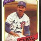 Chicago Cubs Ivan DeJesus 1980 Topps Baseball Card # 691 nr mt