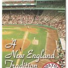 2002 Boston Red Sox Ticket Brochure