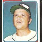 Atlanta Braves Joe Niekro 1974 Topps Baseball Card # 504 vg/ex