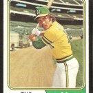 Oakland Athletics Billy Conigliaro 1974 topps baseball card # 545 vg/ex