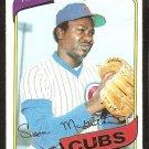 Chicago Cubs Lynn McGlothen 1980 topps baseball card # 716 nr mt