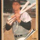 Boston Red Sox Carl Yastrzemski 1962 topps baseball card # 425
