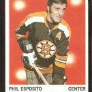 Boston Bruins Phil Esposito 1970 Topps Hockey card # 11 nr mt