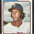 Texas Rangers Joe Lovitto 1974 topps baseball card # 639 vg