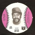 Boston Red Sox Luis Tiant 1977 MSA Burger Chef Disc