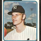 New York Yankees Wayne Granger 1974 topps baseball card # 644 vg