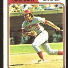 Cincinnati Reds Johnny Bench 1974 topps baseball card # 10 vg