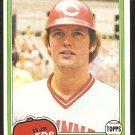 Cincinnati Reds Ron Oester 1981 Topps Baseball Card # 21 nr mt