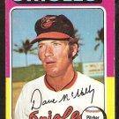 Baltimore Orioles Dave McNally 1975 Topps Baseball Card # 26 good
