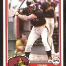 San Diego Padres Gene Tenace 1981 Topps Baseball Card # 29 nr mt