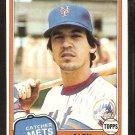 New York Mets Alex Trevino 1981 Topps Baseball Card # 23 nr mt