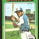 Atlanta Braves Dusty Baker 1975 Topps Baseball Card # 33 vg