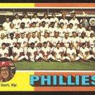 Philadelphia Phillies Team Card 1975 Topps Baseball Card # 46 vg marked cl