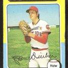 Houston Astros Larry Dierker 1975 Topps Baseball Card # 49 vg